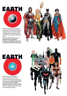 Earth-11 and Earth-12