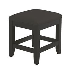 Home Styles 5531-28 Bedford Vanity Bench - http://www.furniturendecor.com/home-styles-5531-28-bedford-vanity-bench-black-finish/