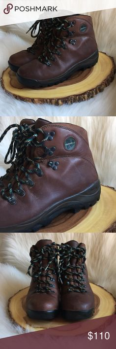 Merrell leather vibram hiking boots Excellent used condition! Vibram technology for extra support and comfort! Soft genuine waterproof leather. Merrell Shoes Winter & Rain Boots