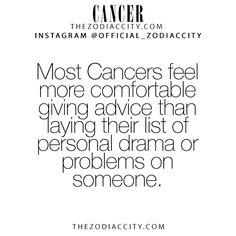 zodiaccity:  Zodiac Cancer Facts! TheZodiacCity.com - For more zodiac fun facts, click here.