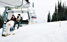 Ski Resort Winter Wedding Gallery | Style Me Pretty