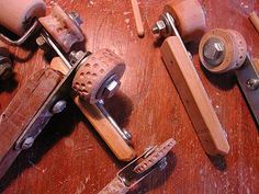 tools•PlumTreePottery Ceramic Tools, Clay Tools, Ceramic Techniques, Pottery Techniques, Pottery Workshop, Pottery Studio, Texture Maker, Pottery Equipment, How To Make Ceramic
