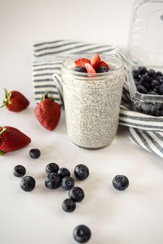 chia seed pudding | chia seed pudding recipe | paleo breakfast | whole30 breakfast