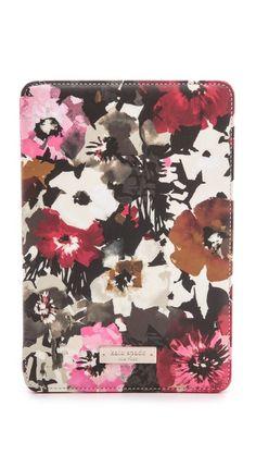 Kate Spade New York Autumn Floral iPad mini Folio Hard Case