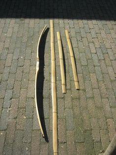 making bamboo backed bamboo bow, builld along - Bild Hafen Traditional Bow, Traditional Archery, Yumi Bow, Recurve Bows, Archery Bows, Bamboo Crafts, Archery Equipment, Longbow, Bowfishing