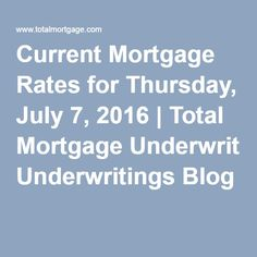 current 30 year mortgage rates washington