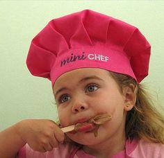 Delantales gorro cocinero delantales y gorros de for Delantales para ninos cocina