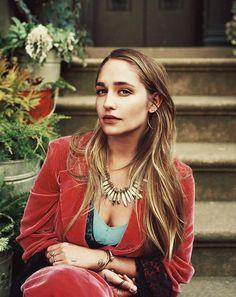 Jemima Kirke. #jewelry #montagemuses #myrnahalpern www.myrnahalpern.com