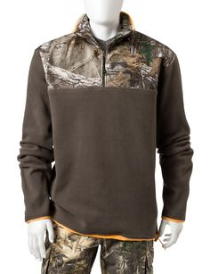 837781863 Earthletics Realtree® Xtra® Micro Fleece Camouflage Pullover | Stage Stores