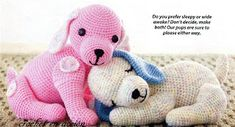puppy love, free Ami pattern: adorable (scroll down page). Others on there too. thanks so for scanning in! xox