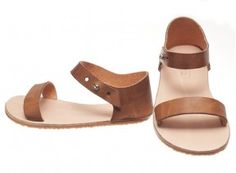 Honey Leather Ani Sandal