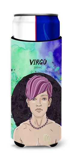Virgo Zodiac Sign Michelob Ultra Hugger for slim cans BB7322MUK