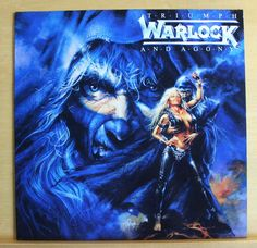 WARLOCK Triumph and Agony Vinyl LP All we are Für immer Touch of Evil DORO PESCH