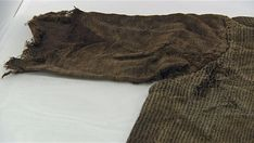 1700 yr old mens tunic recently found near Lendbreen. Pre Viking but amazing! The wool tunic is well made and pretty much still complete.