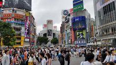 Sea of People at Shibuya Crossing Tokyo #travel #photography #nature #photo #vacation #photooftheday #adventure #landscape