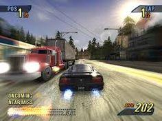 Image result for burnout 1 video game