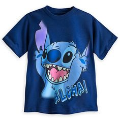 Stitch Tee for Boys, Aloha!, Item No. 5601056286921M