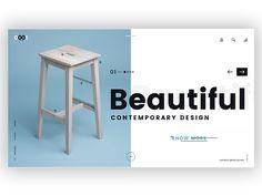 Modern Furniture website UI