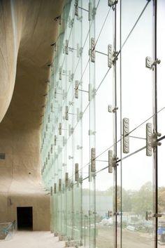 Museum of the history of polish Jews/ Lahdelma & Mahlamaki Architects