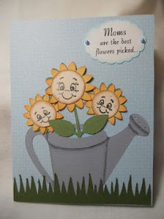 Walk in My Garden, Plantin Schoolbook used for Mother's Day card