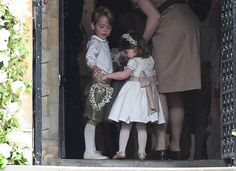 Prince George and Princess Charlotte Are Adorable at Aunt Pippa's Wedding  - CountryLiving.com