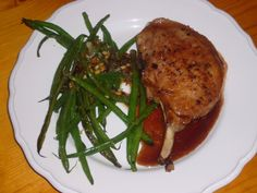 Pork Chops with Pomegranate Reduction
