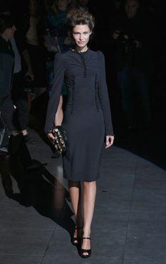 Bianca Balti in Dolce & Gabbana - Dolce & Gabbana Front Row #mfw