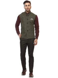 Buy Lee Marc Mahendi Green Linen Cross Nehru Jacket Online at Low prices in India on Winsant, India fastest online shopping website. Shop Online for Lee Marc Mahendi Green Linen Cross Nehru Jacket only at Winsant.com. COD facility available.