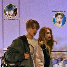 Breaking News Bts' Jimin was caught going on a date with Blackpinks Rosé! Swag Couples, Kpop Couples, Cute Couples, Just Add Magic, Bts Girl, Blackpink Photos, Blackpink And Bts, Blackpink Fashion, Korean Couple
