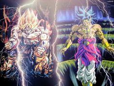 Who will win ........... Goku @ broly #dbz #dragonballz #goku