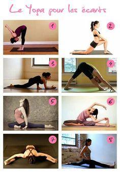Si vous avez pour objectif d'atteindre ou améliorer vos grands écarts, le yoga vous offre plusieurs postures qui peuvent vous aider. Voici 8 postures de yoga que vous pouvez imprimer et pratiquer plusieurs fois par semaine ou chaque jour selon votre motivation et votre disponibilité afin de gagner en souplesse pour les écarts. Commencez par [&hellip