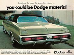 Dodge ad - 1970