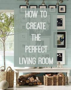 How to create the perfect living room, with top tips and advice on making the most of your space. If interior design isn't your thing, don't worry, these ideas offer a creative guide on getting it right every time. Just click through to find out more.