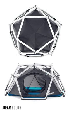 The Cave, inflatable tent by Heimplanet