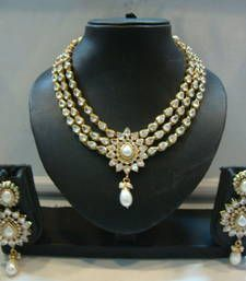 Buy Design no. 10b.2234....Rs. 3950 necklace-set online