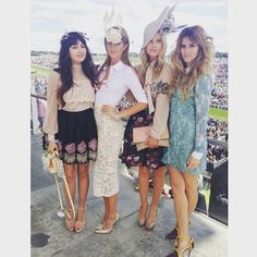 """Ladies day @zaramartin @whinniewilliams @thewhitmore #investecderby"" Photo taken by @camillamackintosh on Instagram, pinned via the InstaPin iOS App! http://www.instapinapp.com (06/06/2015)"
