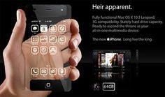 Trasparent iPhone Concept Design