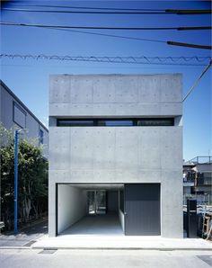 Grow - Tokyo, Japan - 2012 - APOLLO Architects & Associates #architecture #japan #concrete