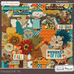Fabulous Fall - Kit From Designs by Connie Prince