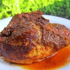 Plain Chicken: {Slow Cooker} BBQ Chicken (might have to try this for the man) Crock Pot Slow Cooker, Slow Cooker Recipes, Crockpot Recipes, Cooking Recipes, Chicken Recipes, Beans Recipes, Crock Pots, Recipe Chicken, Fish Recipes
