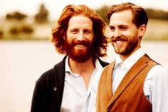 Johnny Harrington and some other cute ginger guy.