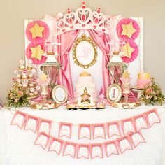 www.charmingtouchparties.com - Princess Party