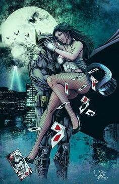 Zatanna and Batman by ArtKSI - Batman Poster - Trending Batman Poster. - Zatanna and Batman by ArtKSI Batman Poster, Batman Art, Comic Book Characters, Comic Books Art, Comic Art, Arte Dc Comics, Batman Und Catwoman, Batgirl, Joker