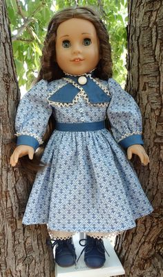 18 Doll Clothes Civil War Era Style Gown Fits by Designed4Dolls