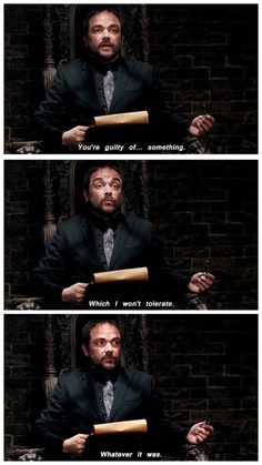 [gifset] Crowley is so done.