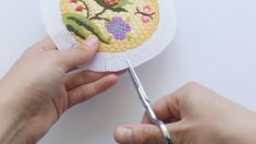 How to Finish a Needlepoint Ornament – Abigail Cecile Bargello Needlepoint, Needlepoint Stitches, Needlepoint Canvases, Needlework, Cross Stitching, Cross Stitch Embroidery, Hand Embroidery, Cross Stitch Patterns, Cross Stitch Love