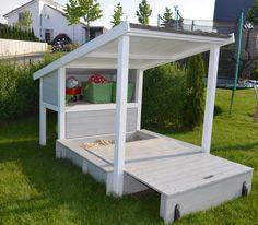 Ein Lieblingsplatz im Garten - unser Sandkasten! (DIY: Bauanleitung von Toom)