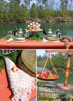 Fishing Party Inspiration Board