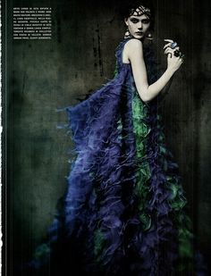Vogue Italia September 2011 The Haute Couture Models: Frida Gustavsson, Jac, Kristina Salinovic. Ph: Paolo Roversi St: Lori Goldstein Hair by Julien dYs Makeup by Stephane Marais Frida Gustavsson, Paolo Roversi, Ethereal Photography, Editorial Photography, Fashion Photography, Art Photography, Glamour Photography, Lifestyle Photography, Foto Fashion