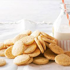 Candied Ginger and Orange Icebox Cookies From Better Homes and Gardens, ideas and improvement projects for your home and garden plus recipes and entertaining ideas.